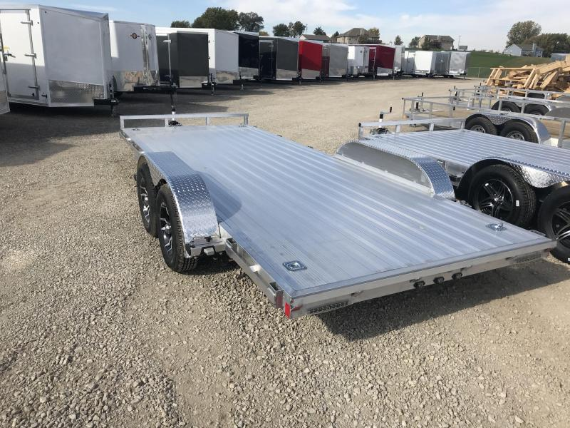 2018 Stealth Trailer 7 x 18 ALL ALUMINUM Flatbed Trailer