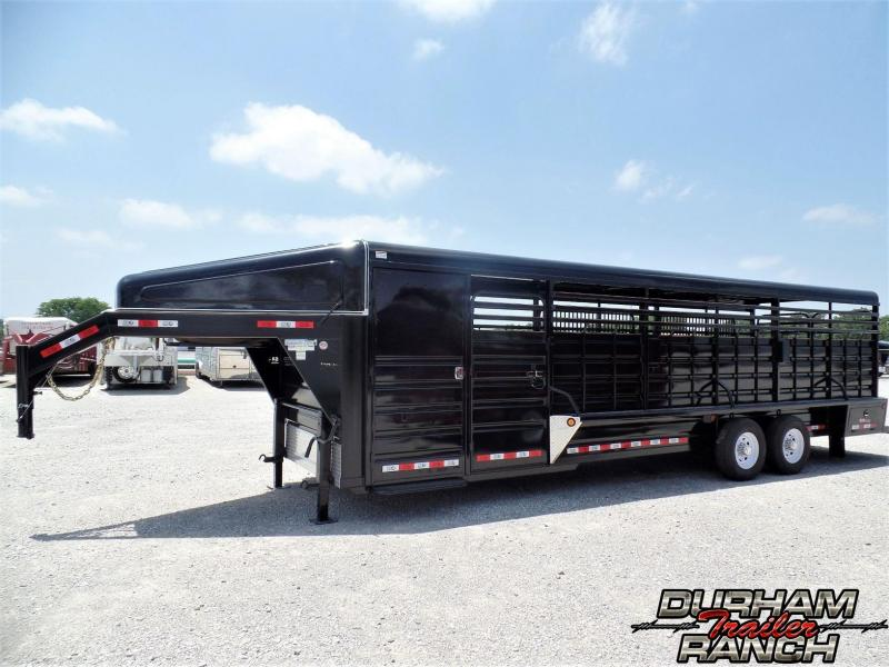 2019 GR 28 ft Gooseneck w/ Loaded Tack Livestock Trailer