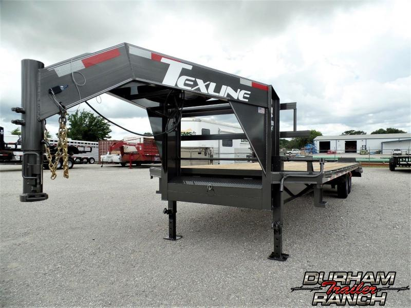 2019 TexLine 24 ft GN Deck Over Trailer