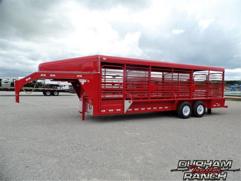 2019 GR Trailers 24 ft. GN Stock Livestock Trailer
