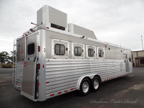 2016 Hart 4 Horse 14'sw Horse Trailer