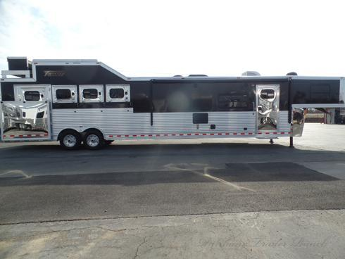 2013 Twister 4 Horse PC Load with 16.5ft SW Horse Trailer
