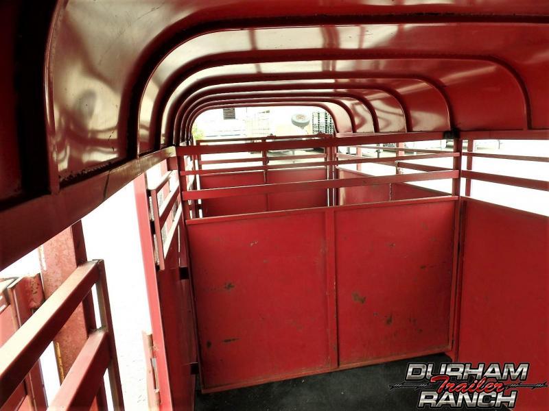 1996 Chaparral 16 ft. Gooseneck Livestock Trailer