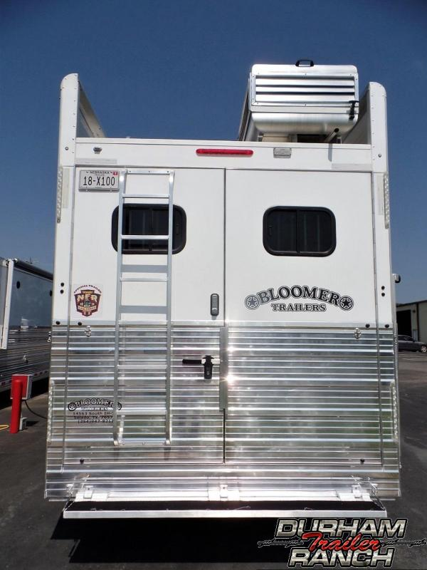 2017 Bloomer 4H PC Load LQ w/ 14 ft SW and 6 ft Slide Horse Trailer