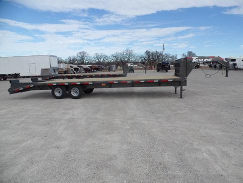 2019 24 +5 Gooseneck Deck Over Trailer