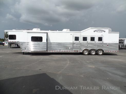 "2018 Bloomer 4H PC Load 19'5"" SW Horse Trailer"
