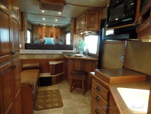 2008 Bloomer 4 Horse with 17 Short Wall Horse Trailer