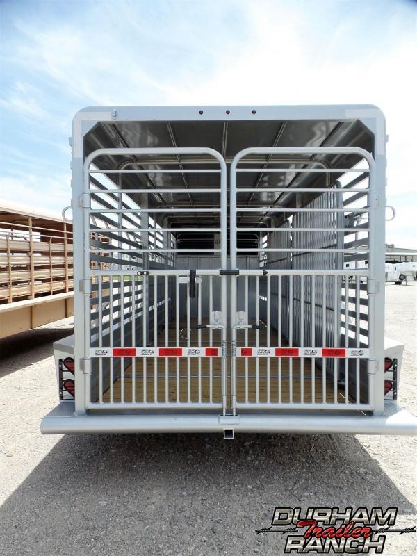 2019 GR Trailers 24 ft Gooseneck Stock Livestock Trailer