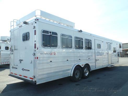 2006 Logan Coach 4H Aluminum XTR 13.5 SW Horse Trailer