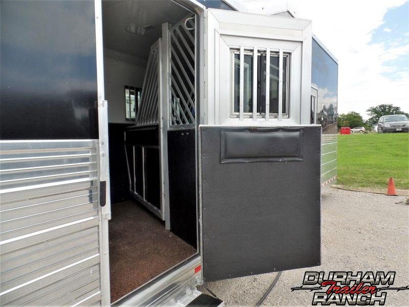 2015 Bloomer 5H PC Side Load w/ 20 ft SW Horse Trailer