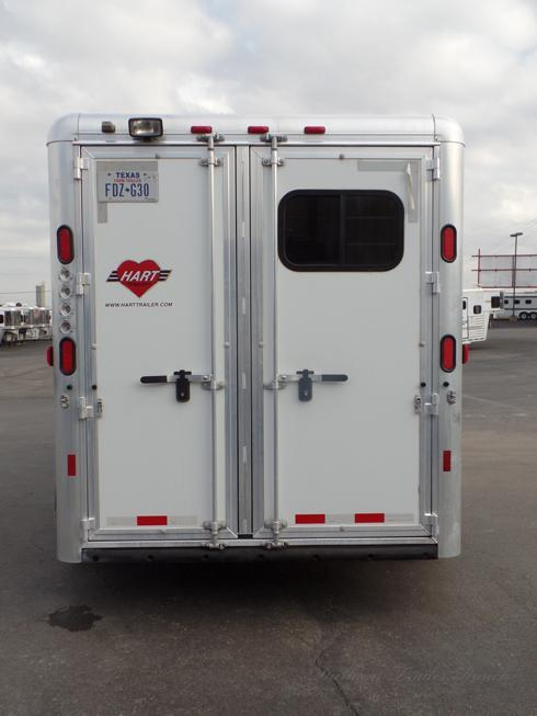 2012 Hart 3 Horse with Front Dressing Room Horse Trailer
