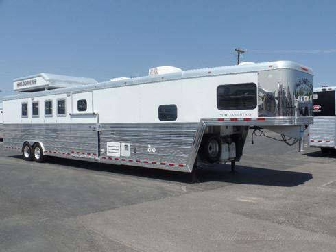 2008 Bloomer 5H Reverse Load 12 sw with Drop Bunk