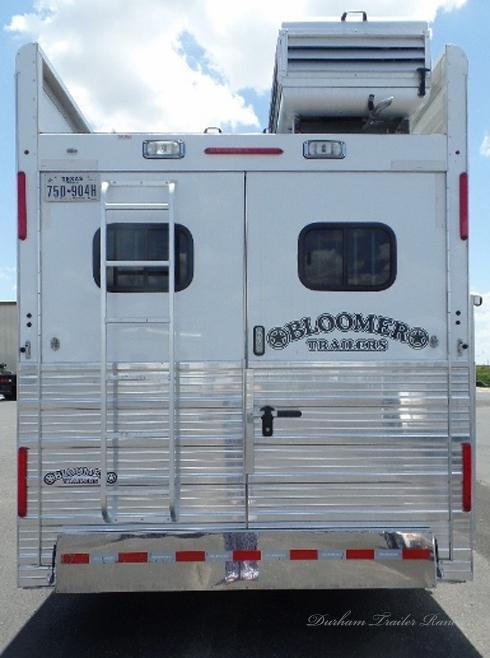 "2015 Bloomer 4 Horse PC Load 15' 10"" sw Horse Trailer"
