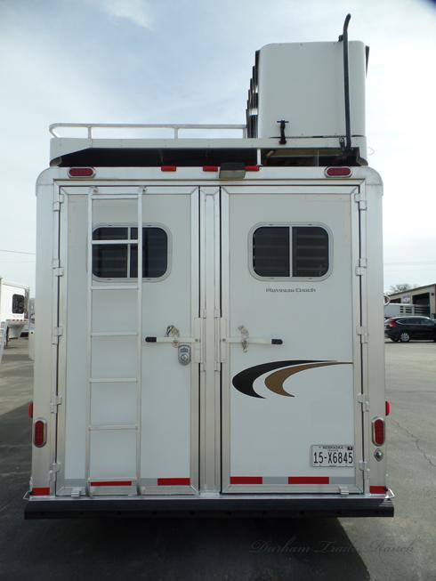2014 Platinum 4 Horse 12ft Short Wall Horse Trailer