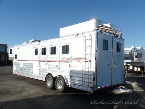 2008 4 Star 4 Horse 12 sw Horse Trailer