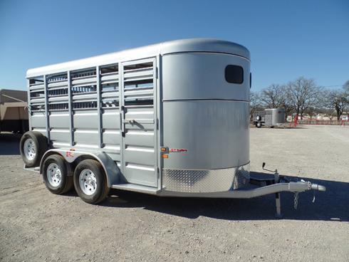 2019 GR 14ft Bumper Pull Stock Trailer Livestock Trailer