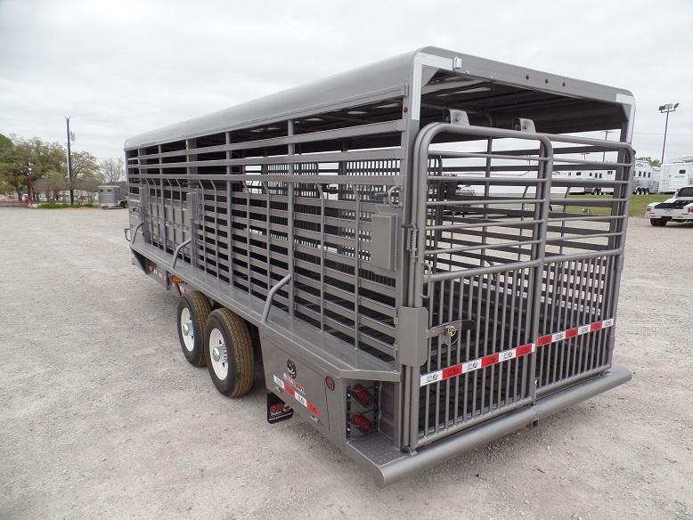 2019 GR Trailers 24 Stk Livestock Trailer