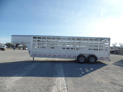 1999 Featherlite 24ft Stock Trailer