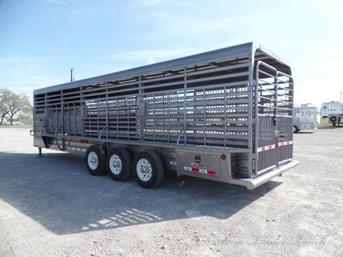 2019 GR 28ft Stock Trailer with 3 Divider Gates
