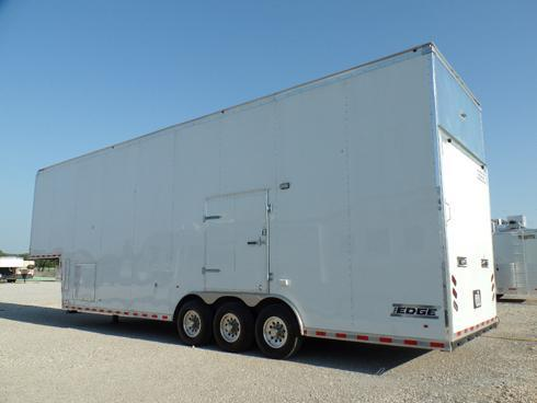 2016 Haulmark Edge 36' Car Hauler Stacker-Hyd Lift