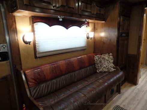 2015 Bloomer 4 Horse with 16.5ft Short Wall Horse Trailer