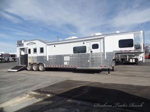 2019 Bloomer 4h Pc Load 16 5 Short Wall Horse Trailer