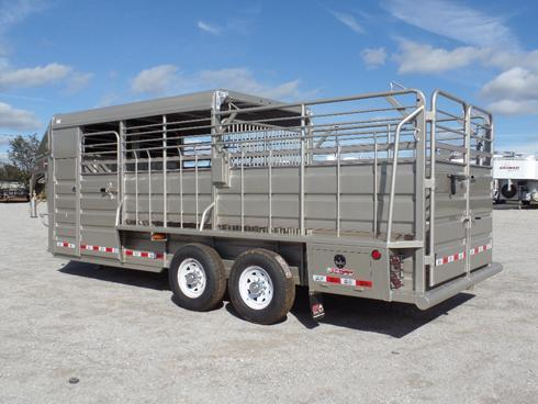 2019 GR 20 ft Stock Trailer
