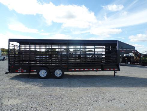 2019 GR Trailers 2019 GR 24 ft Stock Trailer Gooseneck Livestock Trailer