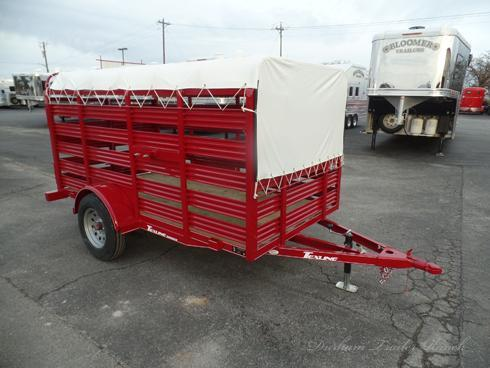 2019 5x10 Mini Stock Trailer Livestock Trailer