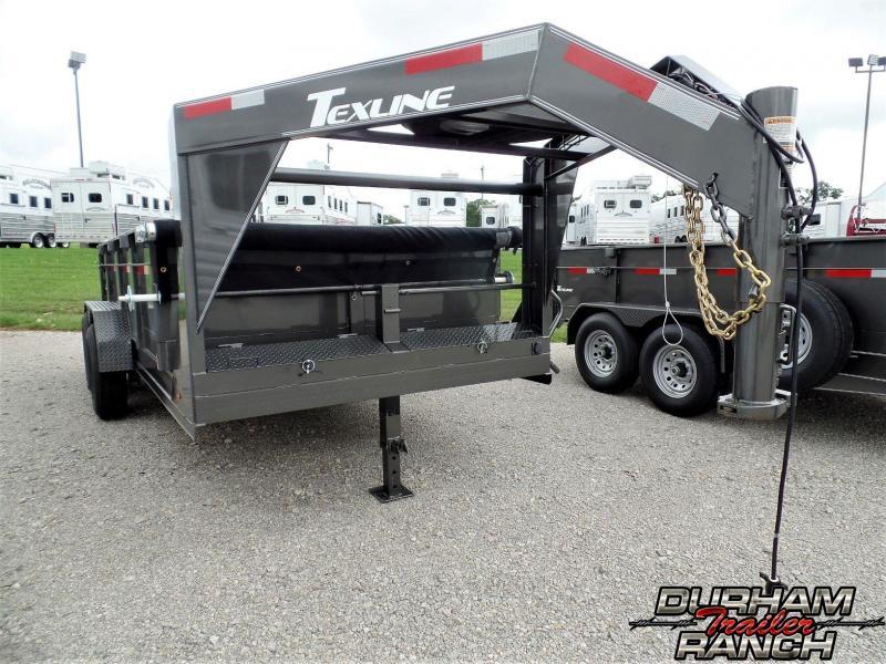 2019 TexLine 14 ft GN Dump Dump Trailer