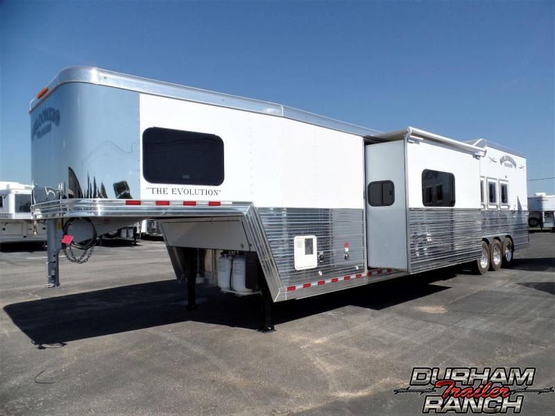 2020 Bloomer 4H PC Load w/ 17ft Short Wall LQ & 9ft Slide Horse Trailer