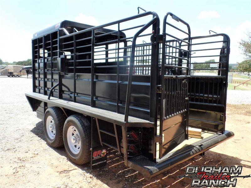 2019 GR 16' BP Half Top Livestock Trailer