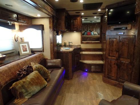 2012 4Star 4 Horse with a 16.5ft Short Wall Horse Trailer