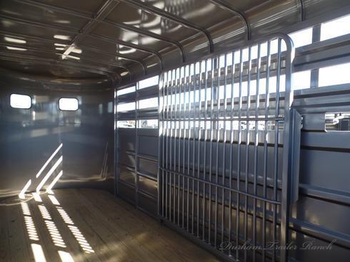 2019 GR 16ft Bumper Pull Stock Trailer Livestock Trailer