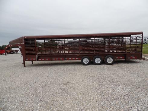 2019 GR 32 ft Stock Trailer