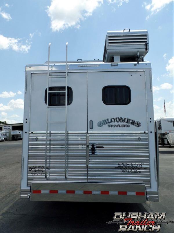 "2020 Bloomer 4H PC Load w/15'11"" SW & 6' Slide Horse Trailer"