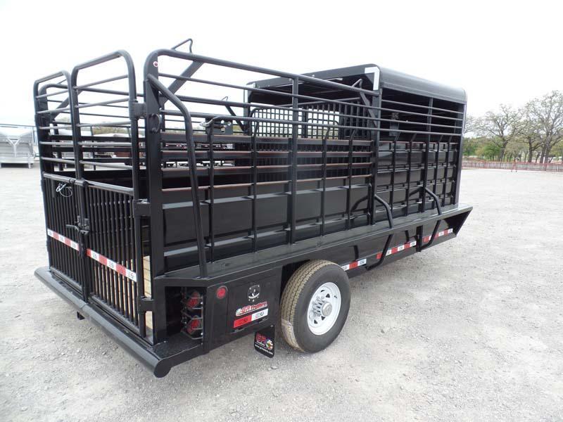 2019 GR Trailers 16 Stock Livestock Trailer