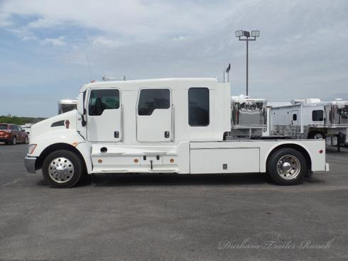 2015 Kenworth T270 Schwalbe 4 Door Stretch Truck