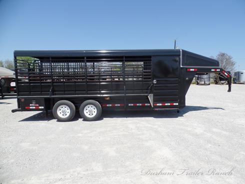2019 GR 20ft Stock 4ft Tack Room Livestock Trailer