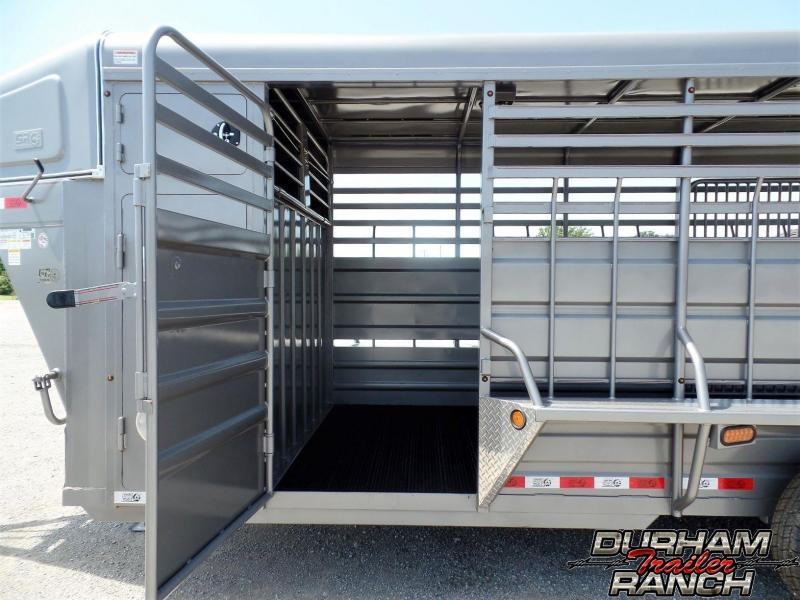 2019 GR Trailers 20 ft GR Gooseneck Stock Livestock Trailer
