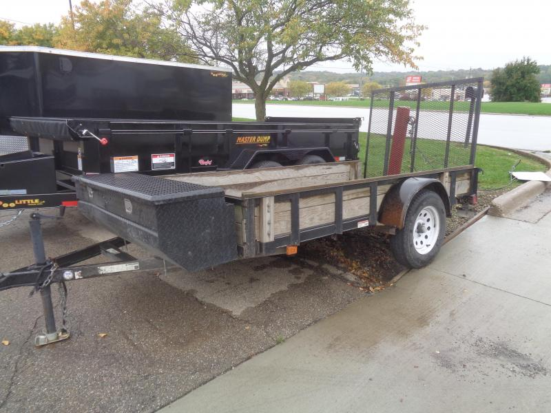 2009 Carry-On 5x10 Utility Trailer with Ramp Gate and Tool Box Utility Trailer