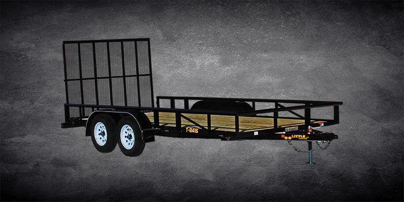 Year 2018 Doolittle 84x20 Tandem Axle Utility Trailer W/Open Sides Utility Trailer