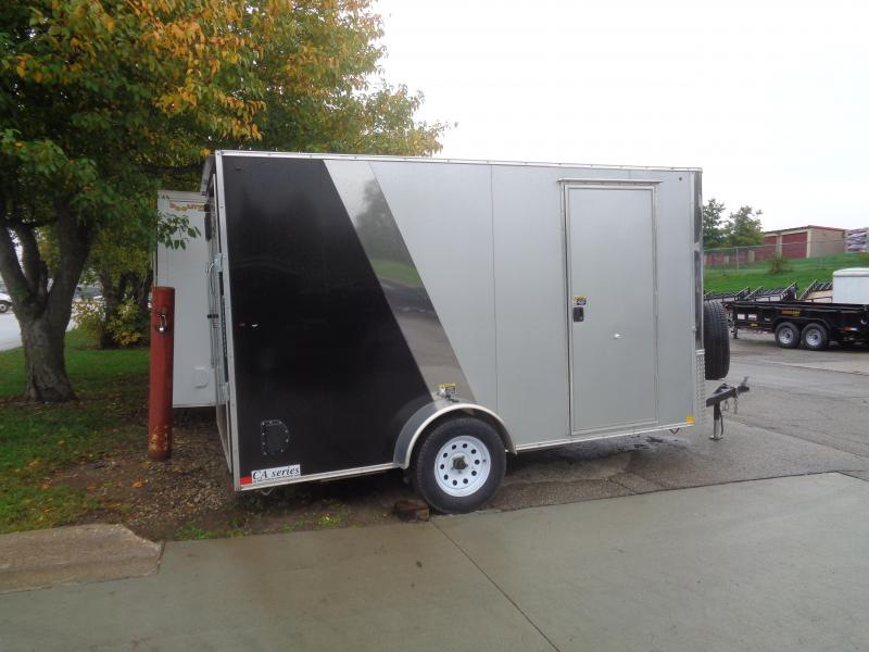 2017 H and H Trailer 6x12 single axle CA series Enclosed Cargo Trailer
