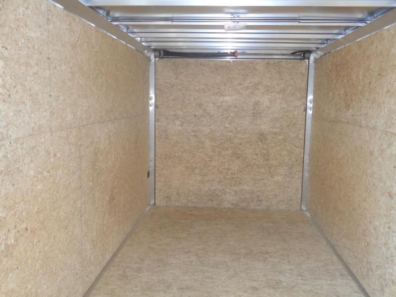 2019 Mission EZ Hauler 7x16 Cargo Trailer with Ramp Door Enclosed Cargo Trailer