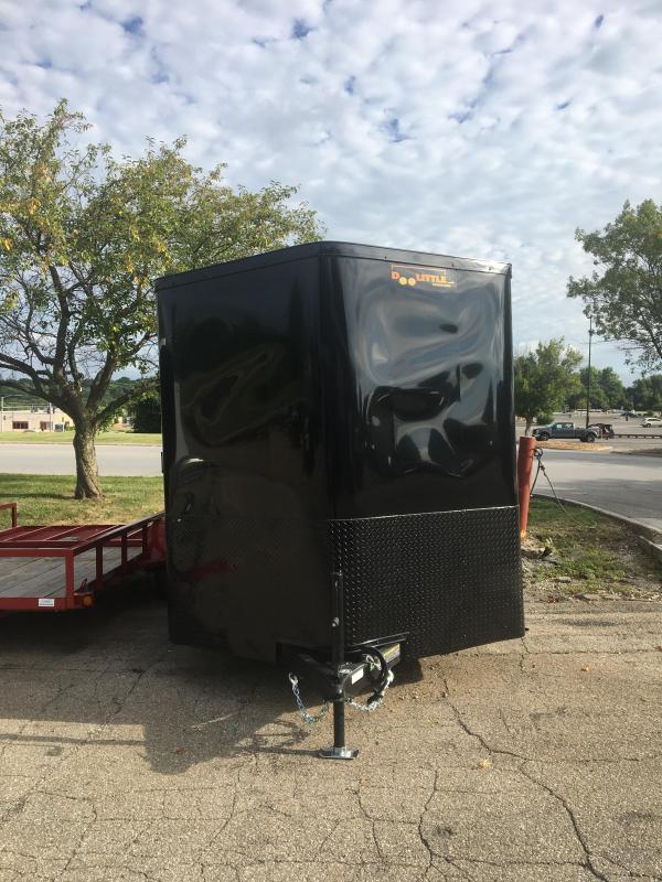 2019 Doolittle Trailer Mfg 7x16 Doolittle Cargo Trailer w/Ramp Door Enclosed Cargo Trailer