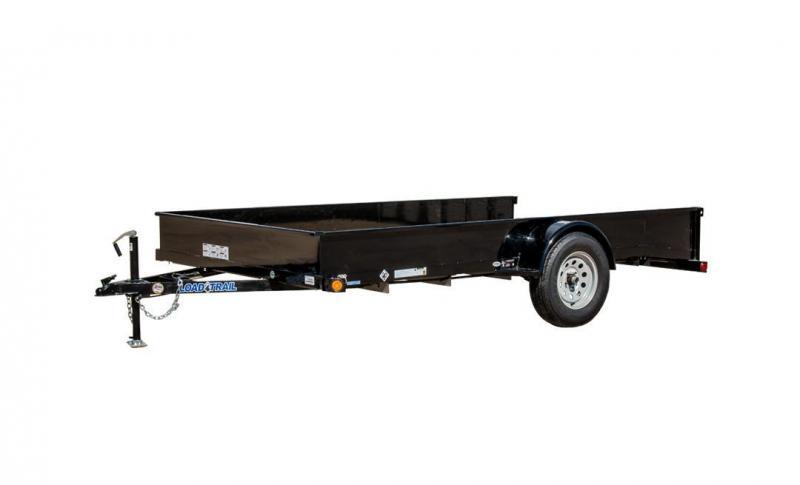 2017 Load Trail Load Trailer 77x12 Single Axle Utility Trailer ...