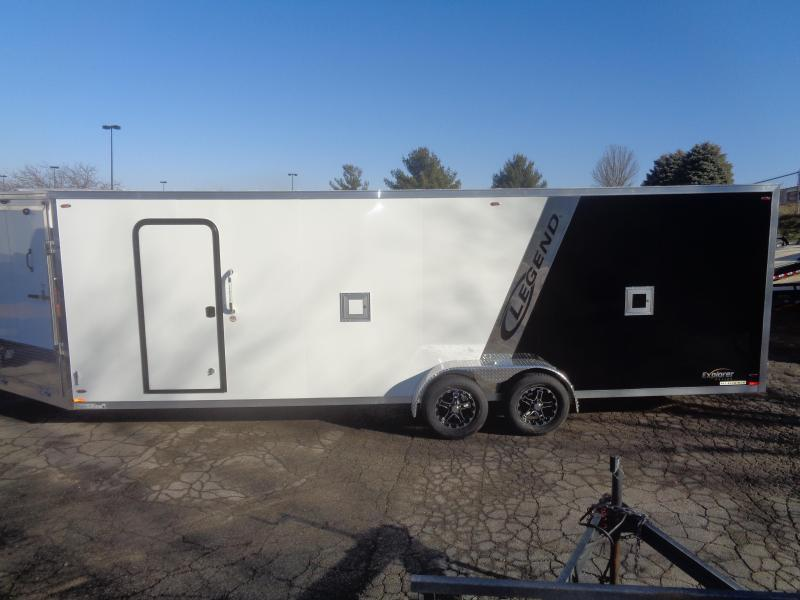 2018 Legend Manufacturing 2018 Legend Explorer Snowmobile Trailer 7x29 Snowmobile Trailer