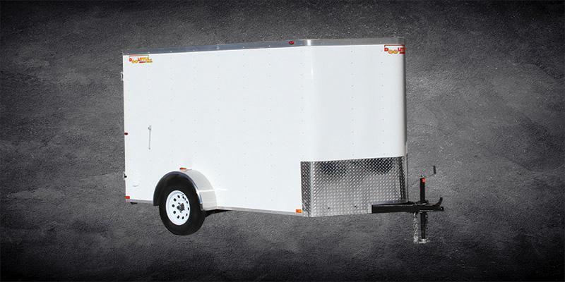2019 Doolittle Trailer Mfg 5x8 Bullitt Enclosed Cargo Trailer w/Double Doors and Side Door
