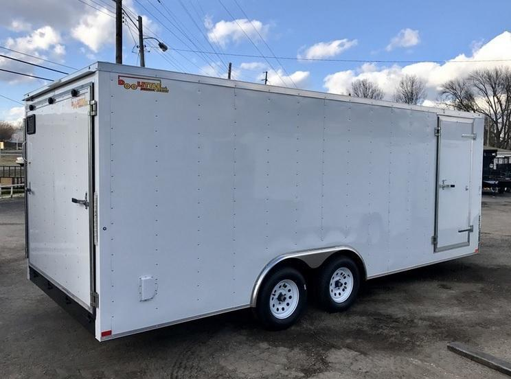 2018 Doolittle Trailer Mfg 8.5x24 Bullitt Cargo Trailer Enclosed Cargo Trailer