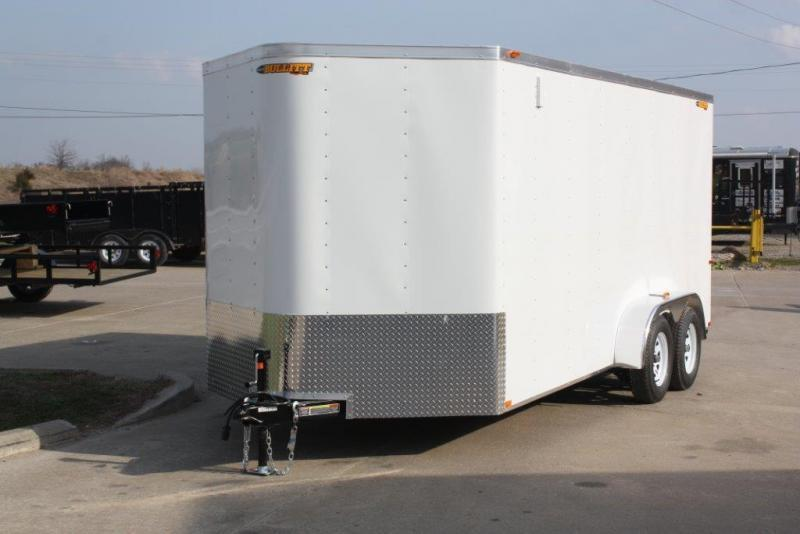 2019 Doolittle Trailer Mfg 7x16 Doolittle Cargo Trailer w/Double Doors Enclosed Cargo Trailer